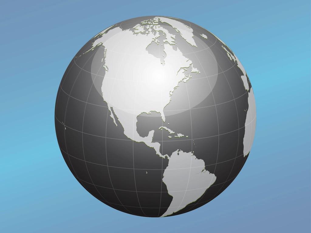 Globe Vector Icon Vector Art & Graphics   freevector.com