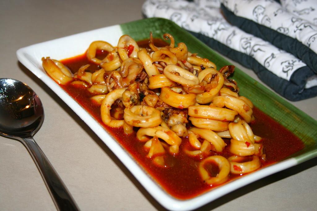 Resep Cumi  Kecap Pedas  Resep Masakan  Dapur Arie