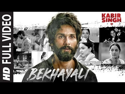 Bekhayali Lyrics – Kabir Singh | Sachet Tandon Lyrics