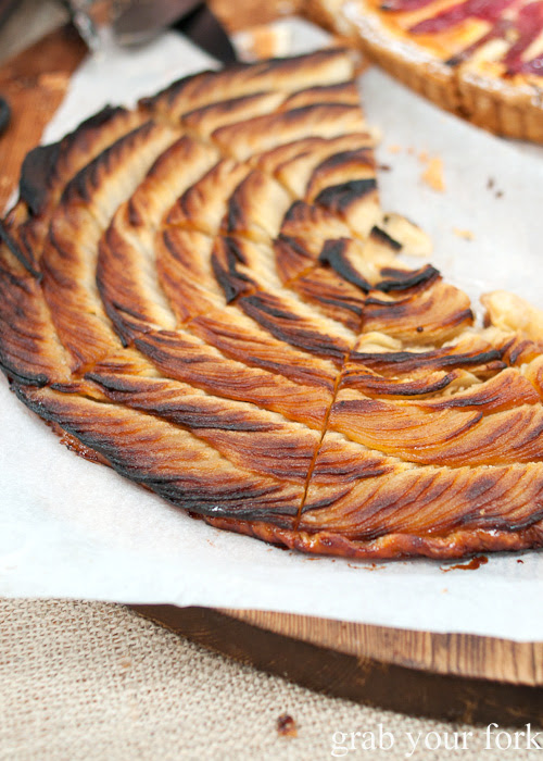 Fine apple tart by Flour and Stone at the Sunday Marketplace, Rootstock Sydney 2014