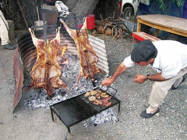 Tierra del Fuego, lamb asado