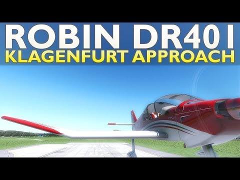 Zoomsim: X-Plane 11 : Aerobask Robin DR401 : LOWK Klagenfurt
