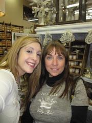 Me and Meleen at Tinsel!