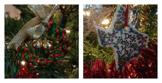 Ornaments on my tree