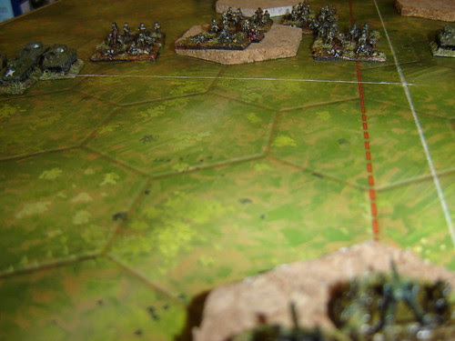 American infantry supports mass armour attack - Battle of Phosphate Plant