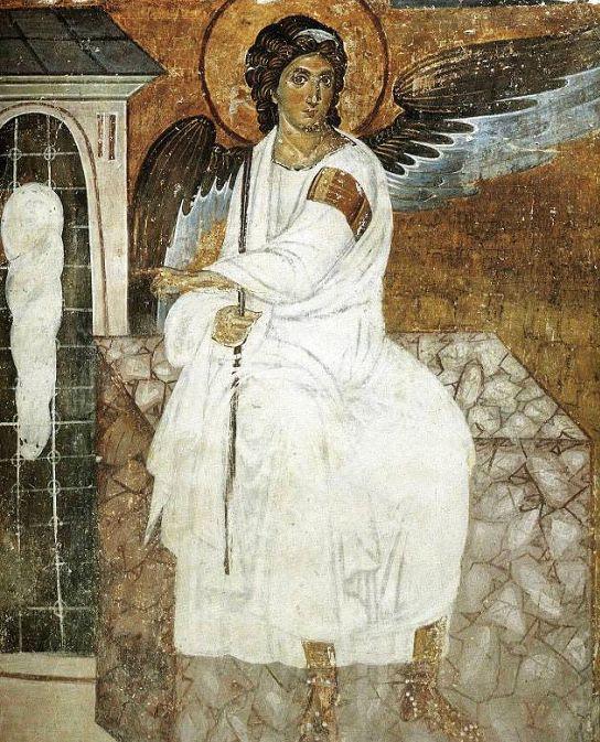 Αποτέλεσμα εικόνας για ο αγγελος της αναστασεως