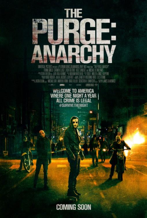 Resultado de imagen para the purge 2 movie poster