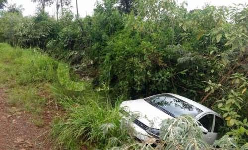 Laranjeiras - Motorista de Cantagalo sofre acidente na BR 158