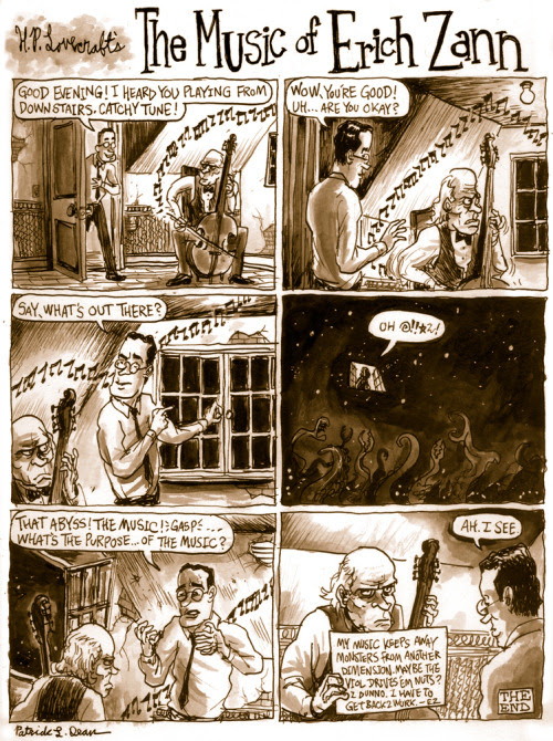Underwhelming Lovecraft Comic Synopsis