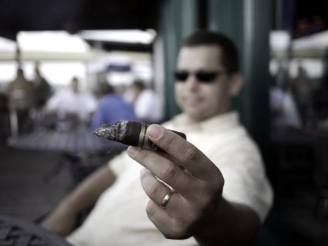 Beer Sellar cigar smoke