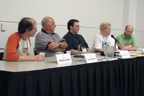 Rolling up the Wheel of Time panelists