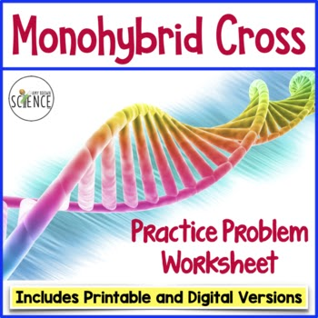 26 Monohybrid Crosses Worksheet Answers - Free Worksheet ...