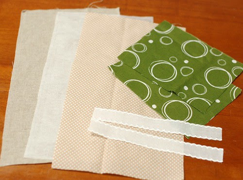 How to make a petit pouch 1