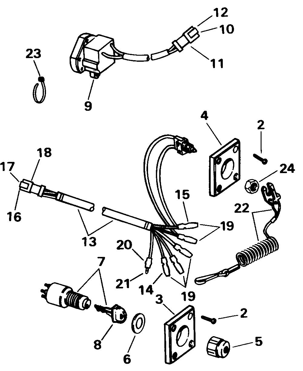 Ignition Switch Kit -- Single Bezel Electrical 1998 ...