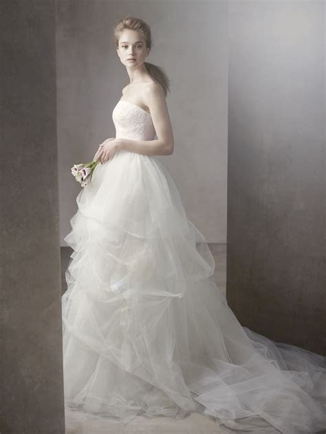 white by vera wang wedding dress spring 2012 bridal gowns