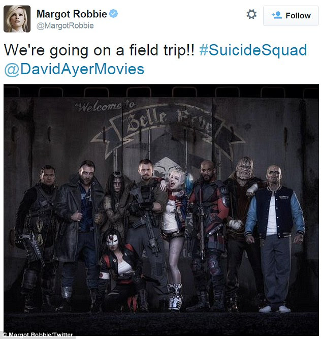 Coming soon: Suicide Squad premieres in US theaters August 5, 2016