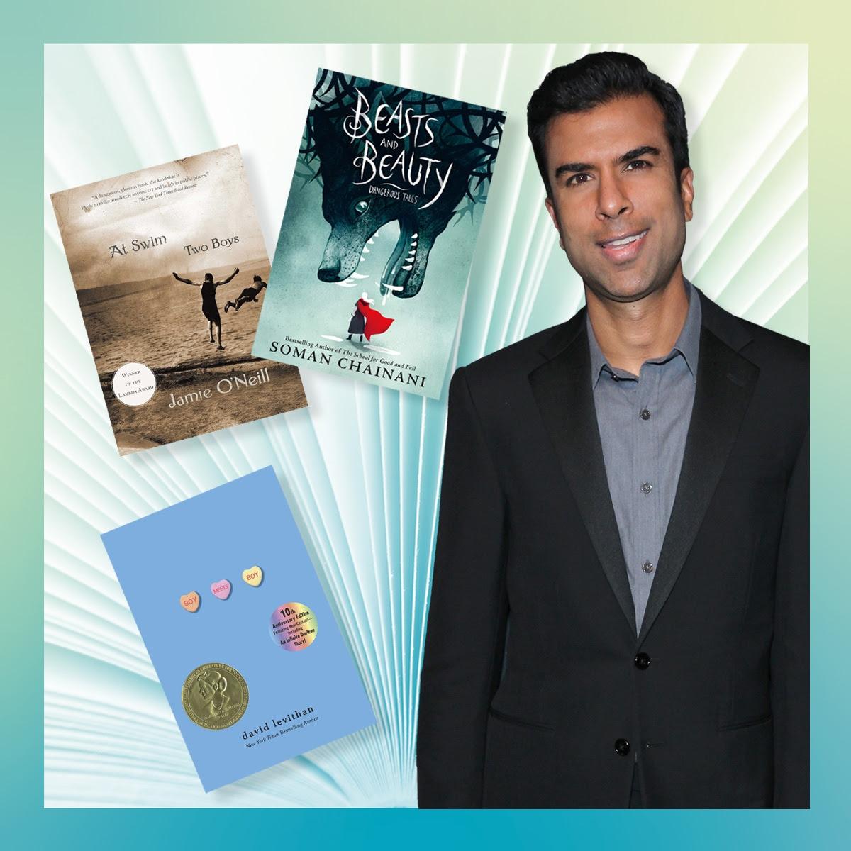 Soman Chainani Shares His Must-Read LGBTQ+ Books