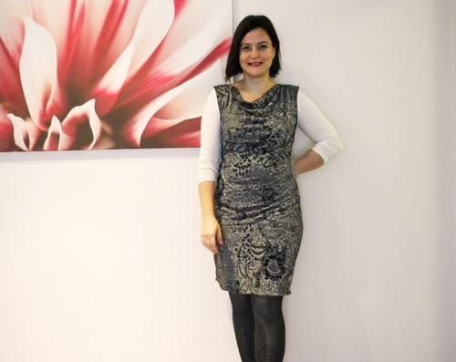 penye elbise degaje yaka dikiş blog