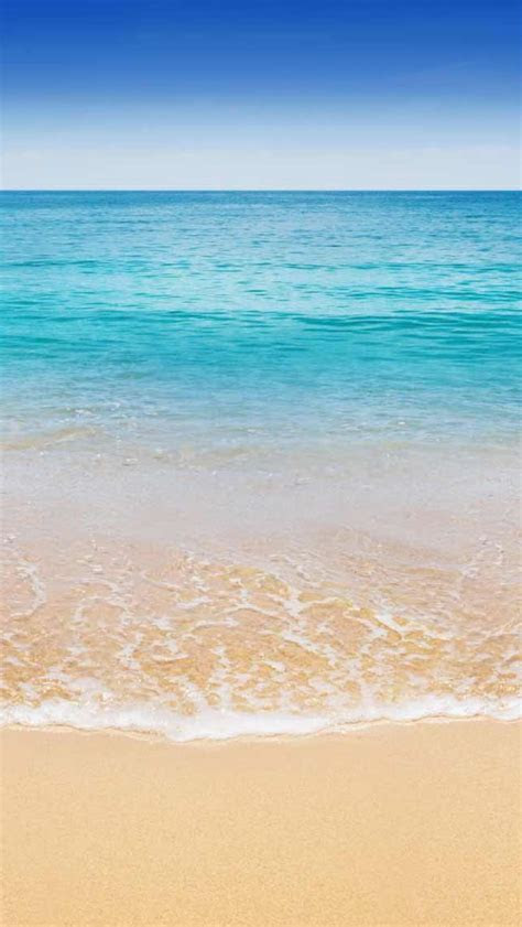 bahamas turquoise blue waters beach iphone  wallpaper hd