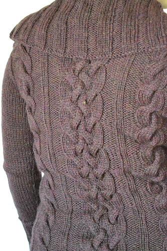 Meg's Sweater - Detail