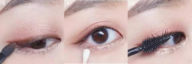 Hướng dẫn chi tiết từng bước một với 4 kiểu eyeline thanh mảnh sắc nét dành cho nàng mới tập tành kẻ mắt - Ảnh 15.