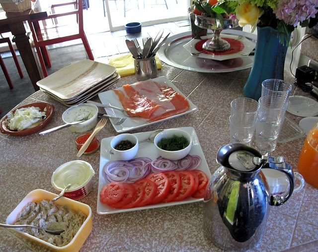 new years day brunch spread