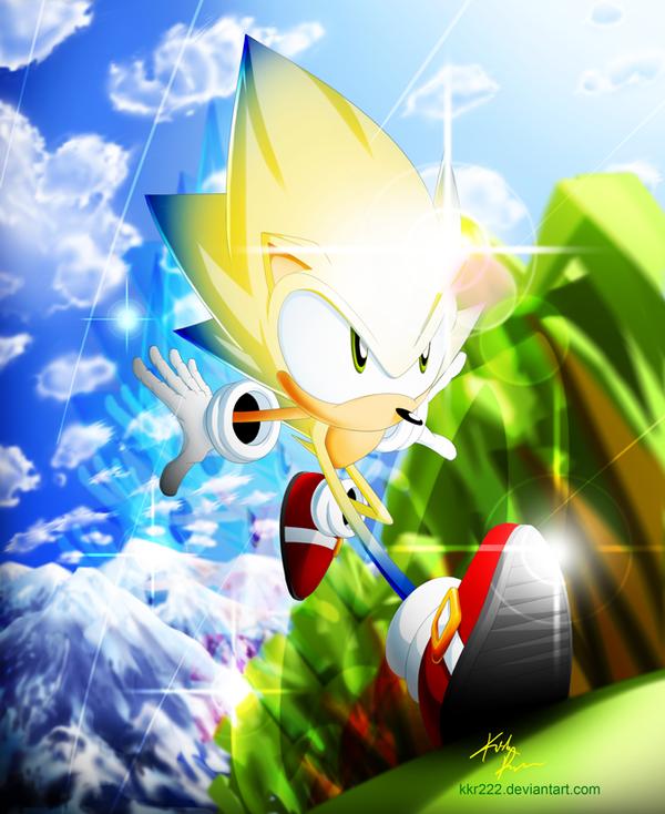Sonic Y Goku Wallpaper