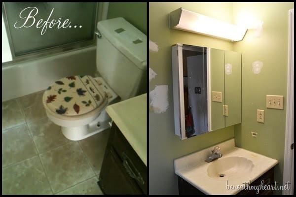 "guest bathroom ""before"""