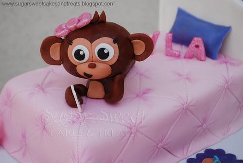 Justice for Girls Monkey Sleep Over Cake