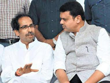 File image of Devendra Fadnavis and Uddhav Thackeray. PTI