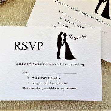 RSVP & Information Cards Archives   Daisy Chain Invites