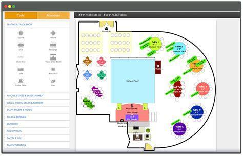 Online Event Table Planner Software & Layout Design