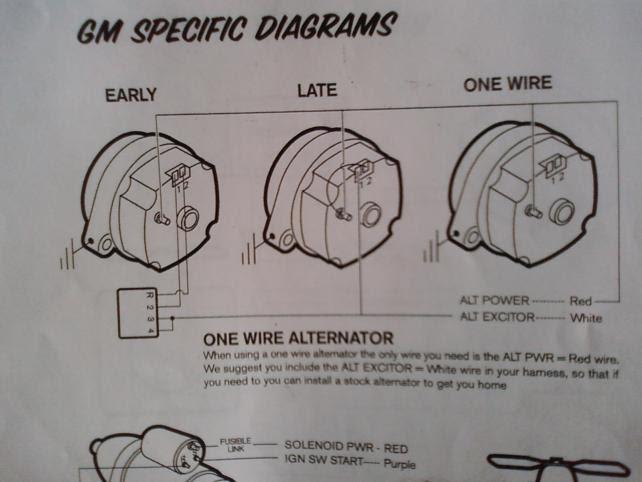 86 Chevy Alternator Wiring Diagram