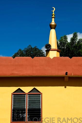 Lake Sebu - Bright Colored Mosque