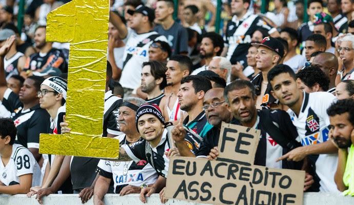 torcida vasco (Foto:  RUDY TRINDADE/Agência Estado)