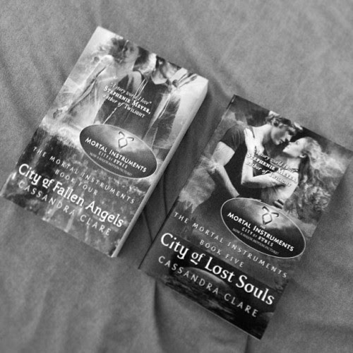 City of Fallen Angels and City of Lost Souls by Cassandra Clare