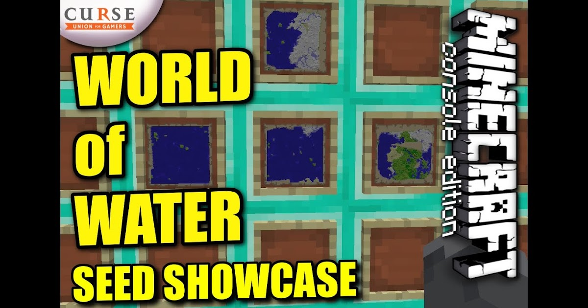 Minecraft Aquatic World Seed - Harbolnas h