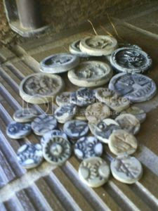resin coins