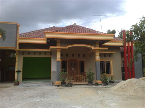 model rumah sederhana di kampung - desain rumah