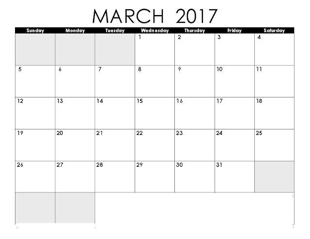2017 Calendar March Holi Date – 2017 March Calendar