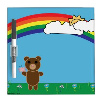 Cute Bear Dry Erase Board
