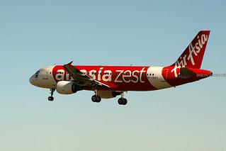AirAsia Zest Airbus A320-216 RP-C8971