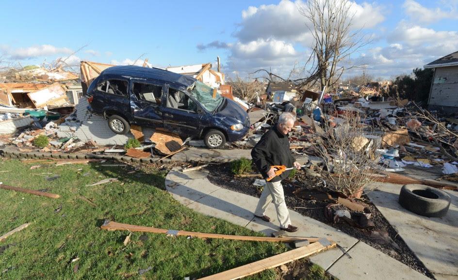 Tornados en el Medio Oeste de EEUU