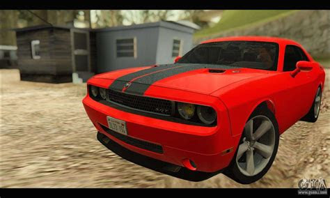 dodge challenger srt     gta san andreas