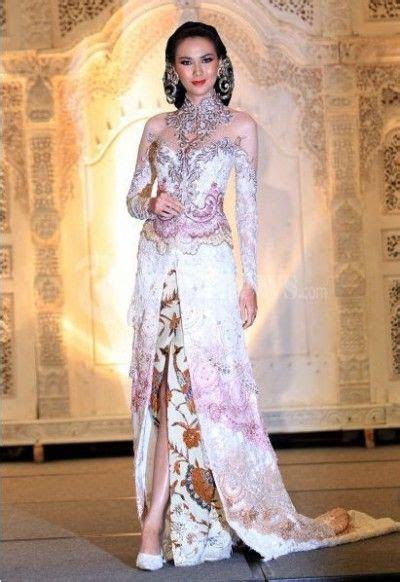 trend warna  model baju kebaya pengantin modern terbaru