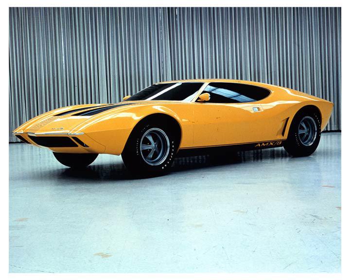 Forgotten Concept: 1970 AMC AMX/3