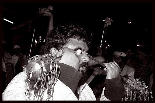 Hardcore Eye Ball Piercing - Chalak Ali by firoze shakir photographerno1