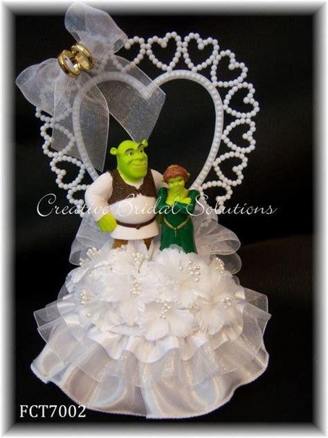Shrek and Fiona Wedding Cake Topper   Shrek, Wedding and