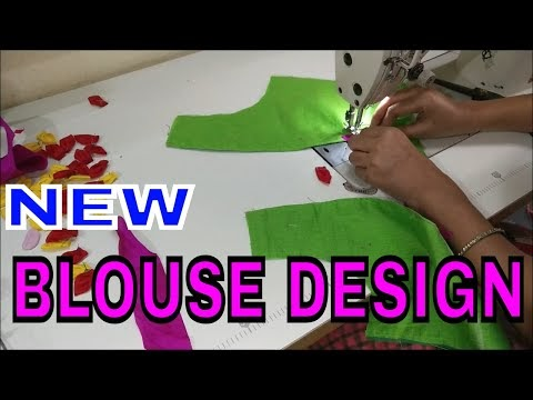 blouse design new Video Cutting And stitching back neck