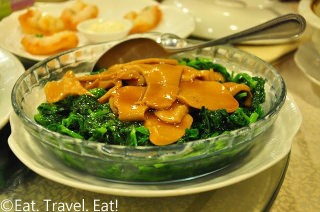 Abalone Mushroom and Peatips